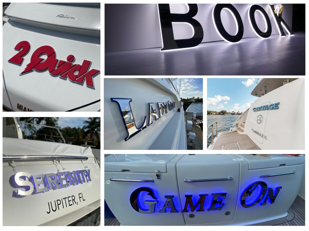 Yacht Graphics & Lettering